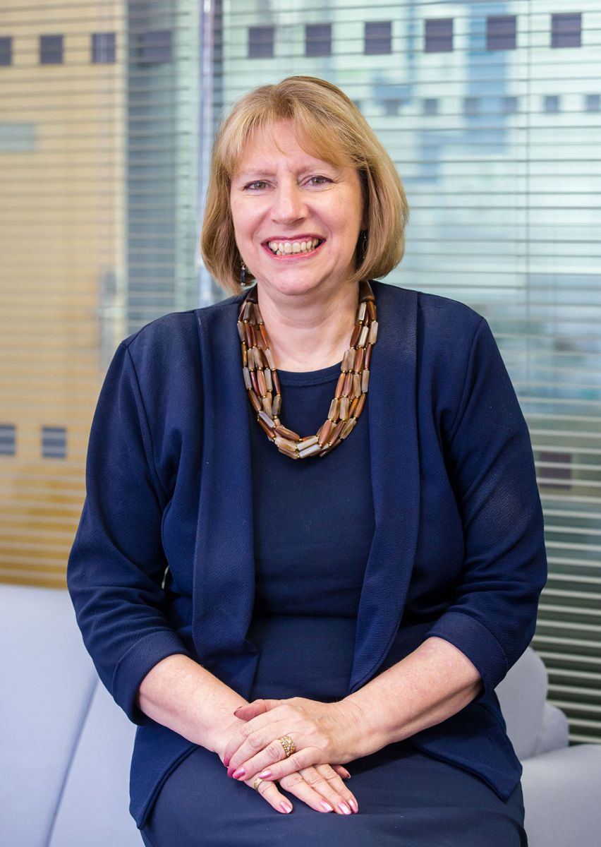 Principal and Chief Executive, Jayne Dickinson