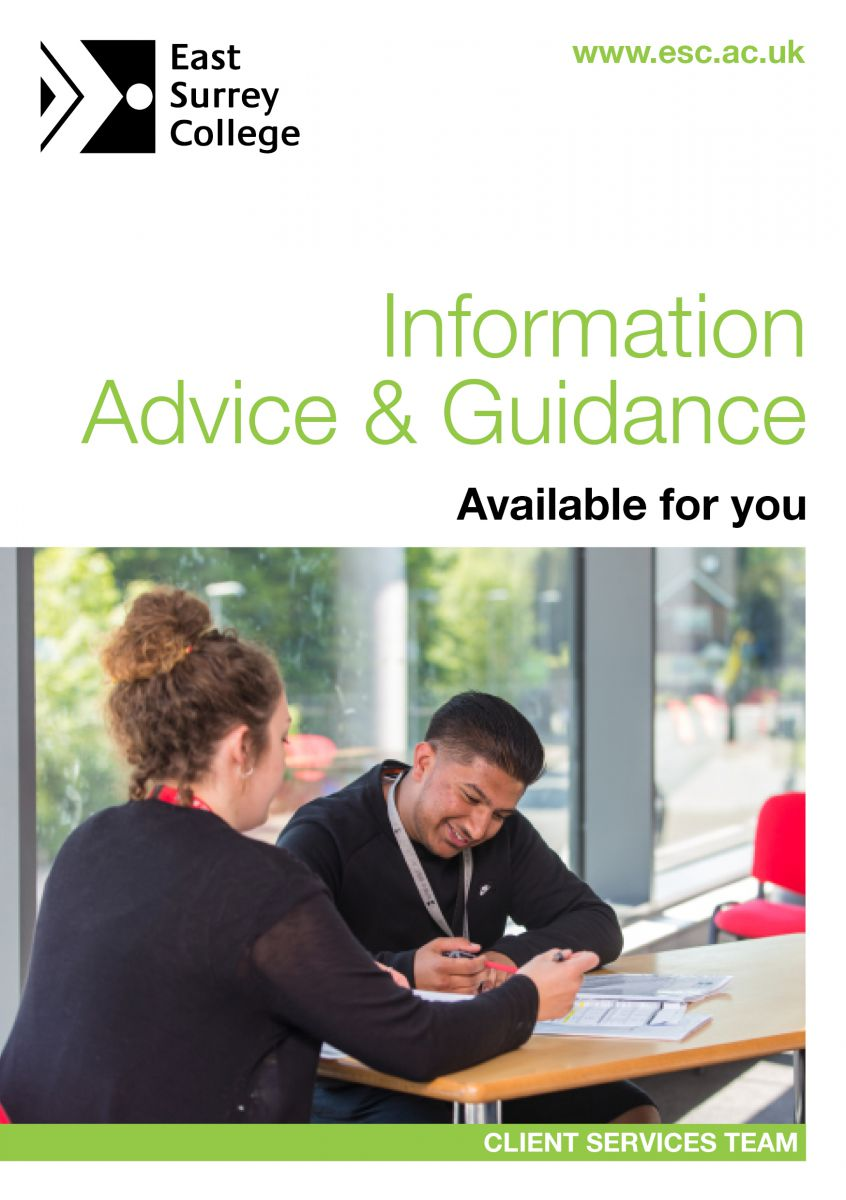 Advice and Guidance Booklet