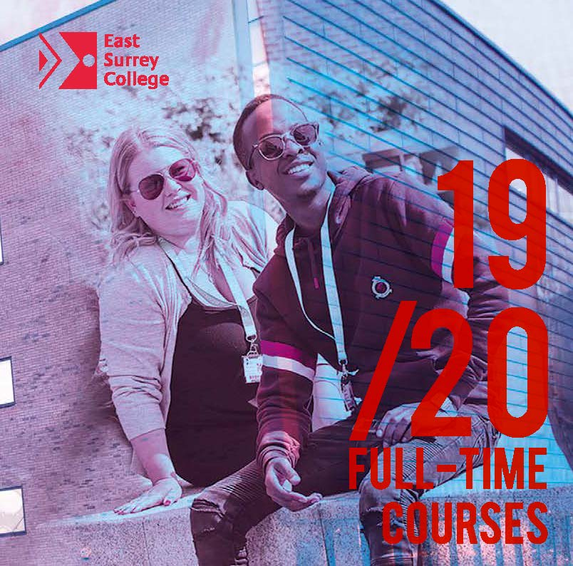 Cover of the ESC Full-time Course Guide 2019-20