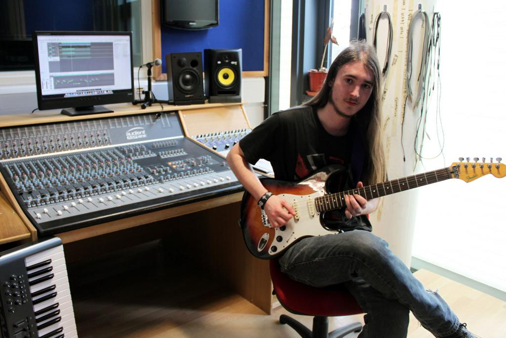 Music Production Student Composes Track to Promote New Novel