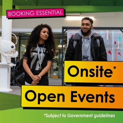 Open Events 2021-22
