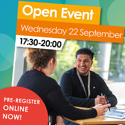 Join us for our Open Event