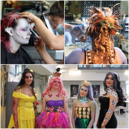 Hairdressing and Fashion & Media Make-Up Showcase
