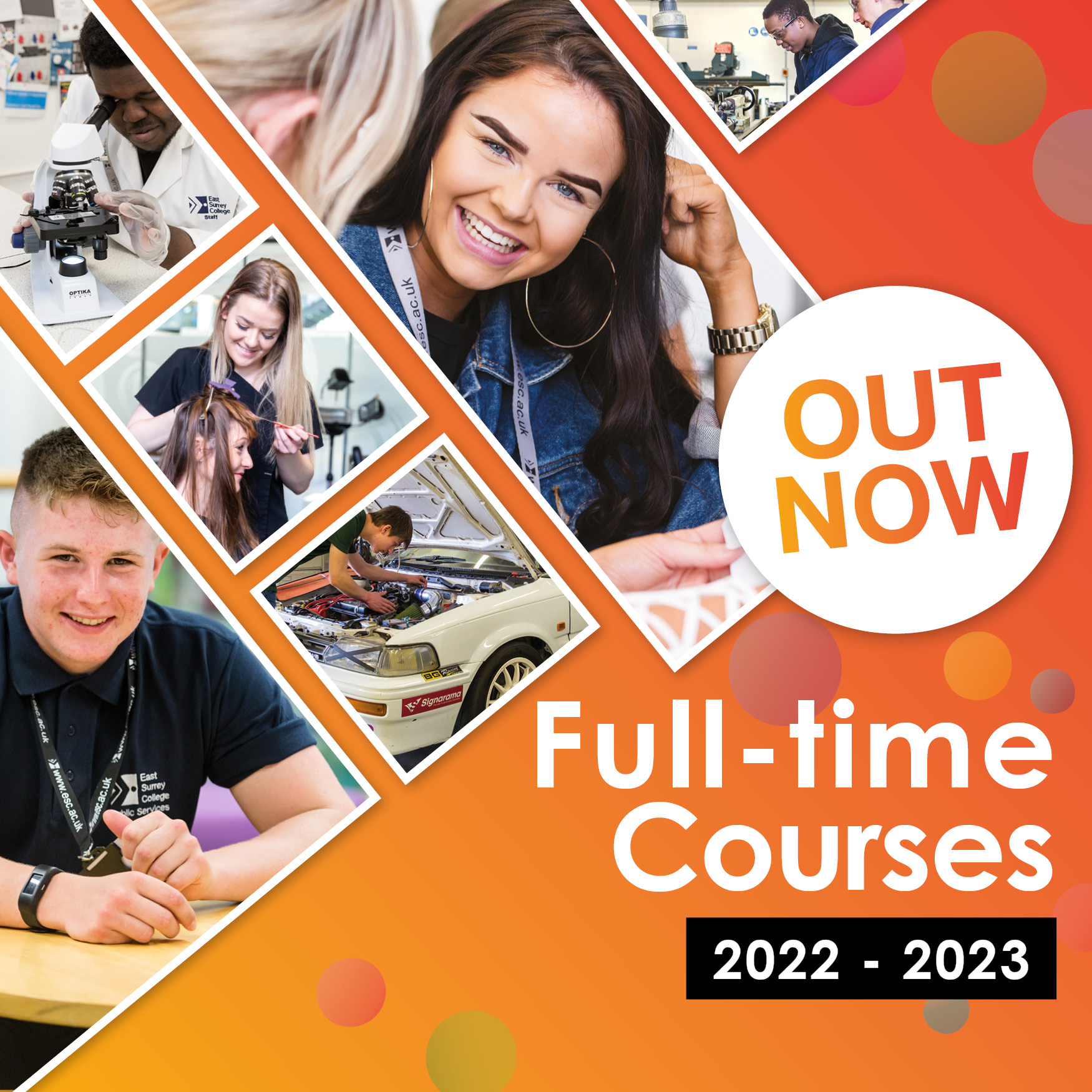 NEW Full-time courses for 2022-2023