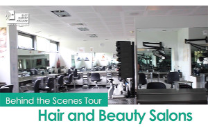 Behind the scenes tour - Hair & Beauty