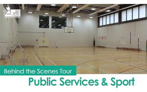 Behind the scenes tour - Public Services & Sport