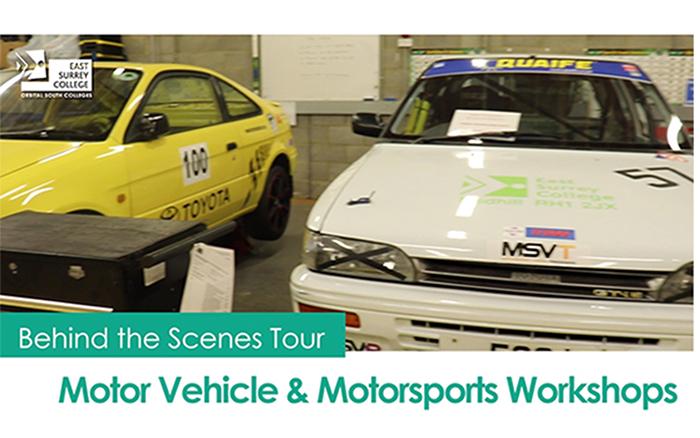Behind the scenes tour - Motor Vehicle & Motorsports