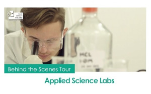 Behind the Scenes Tour - Applied Science